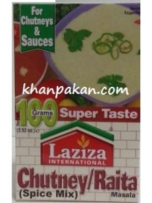 Laziza Chutney / Raita Masala 100 Gms
